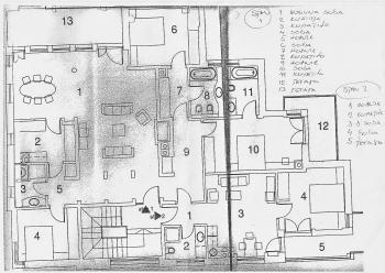 Stan , Savski Venac | Stan 212m² Dedinje